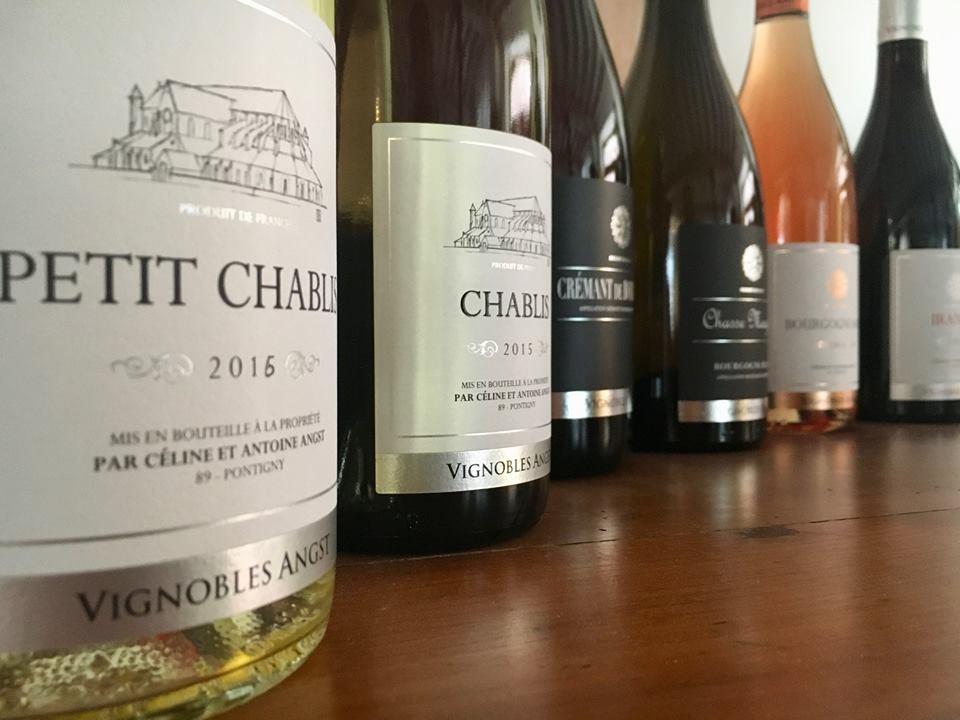 © Céline Angst © La gamme des vins de l'Yonne et de Bourgogne en dégustation au Vignoble Angst à Pontigny dans l'Yonne en Bourgogne